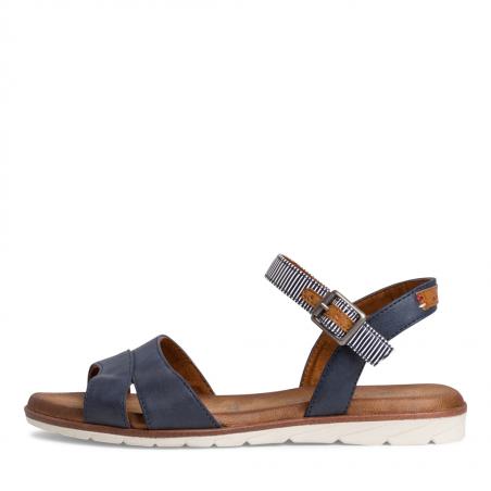 Sandale plate tamaris navy...
