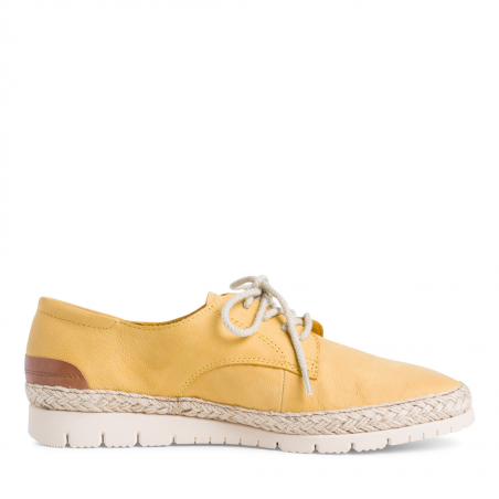 Derbies TAMARIS jaune safran