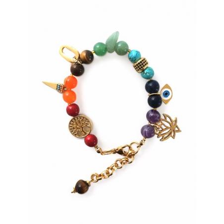 Bracelet fantaisie multicolor