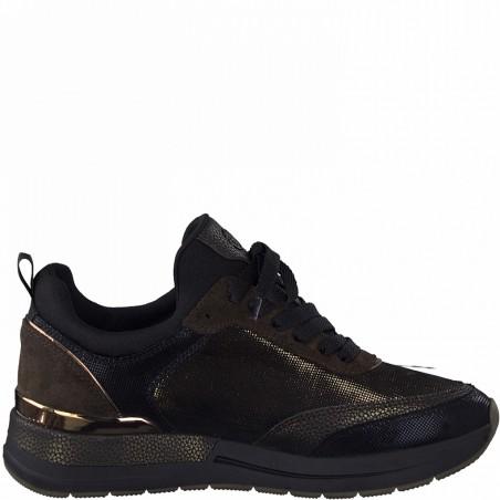Sneaker TAMARIS noir et...