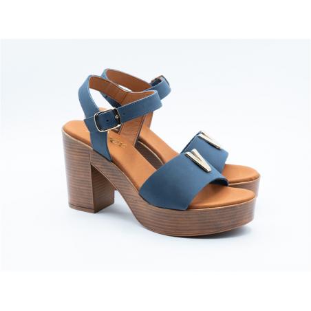 Sandales PAREX bleu