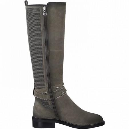 Bottes gris TAMARIS grey