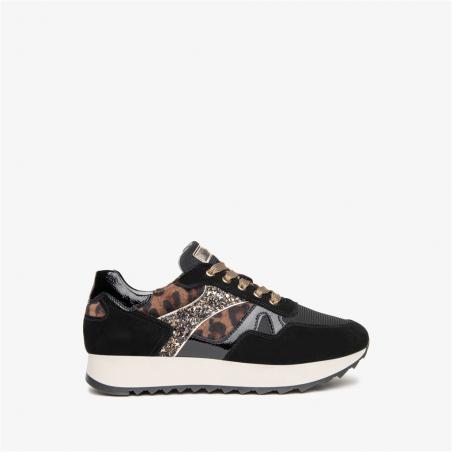 Sneaker NERO GIARDINI noir