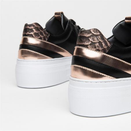 Sneaker NERO GIARDINI cuir...
