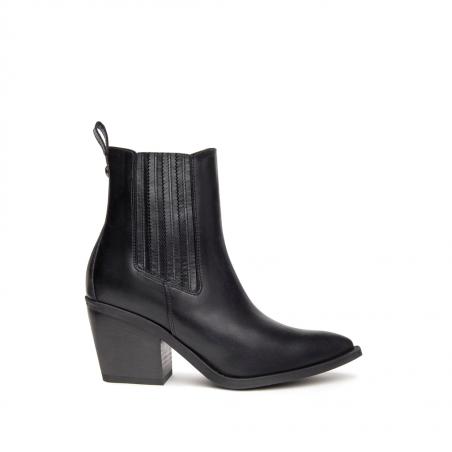 Boots NERO GIARDINI cuir...