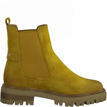 Boots jaune curry TAMARIS...