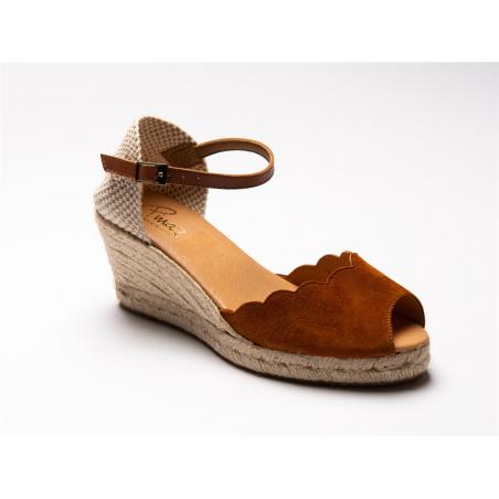 sandale en corde compensée...
