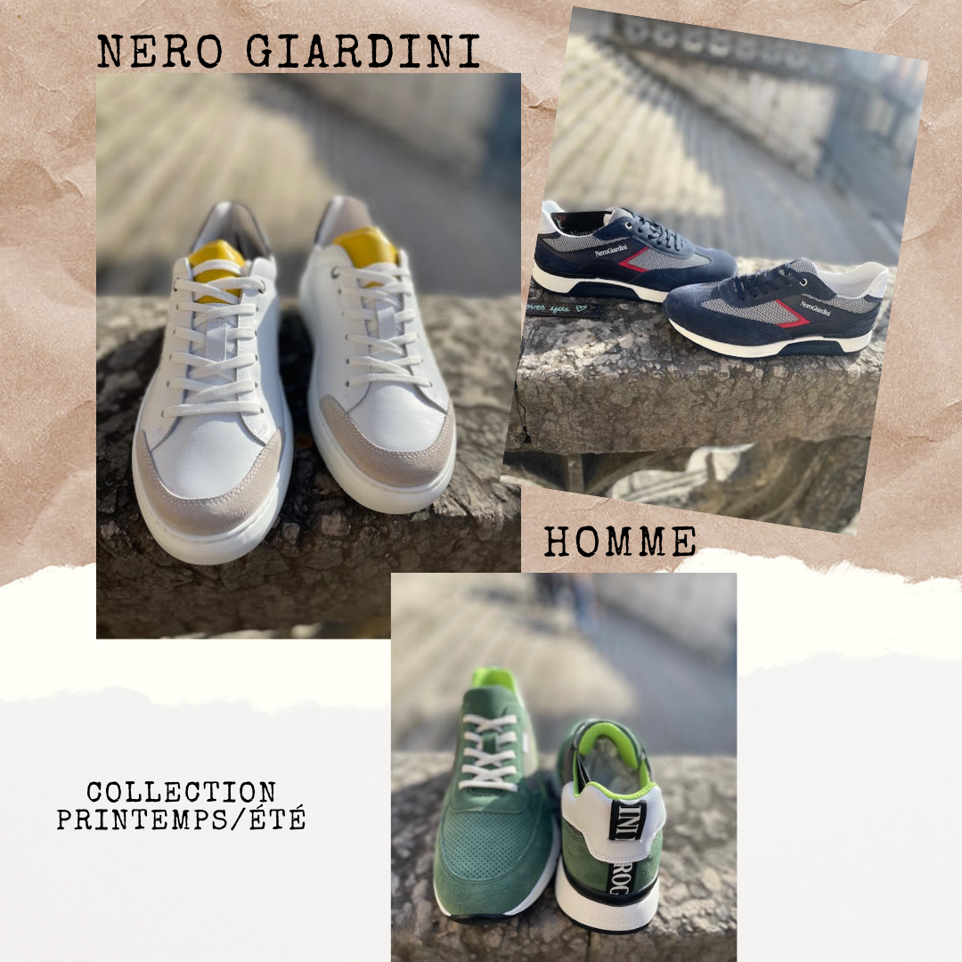 nero giardini made in italy Roux Chaussures